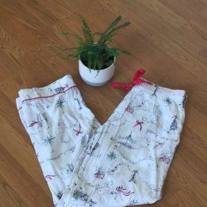Victoria's Secret size M xmas cotton pj bottoms